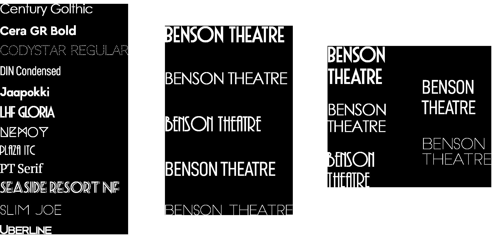 benson-typography