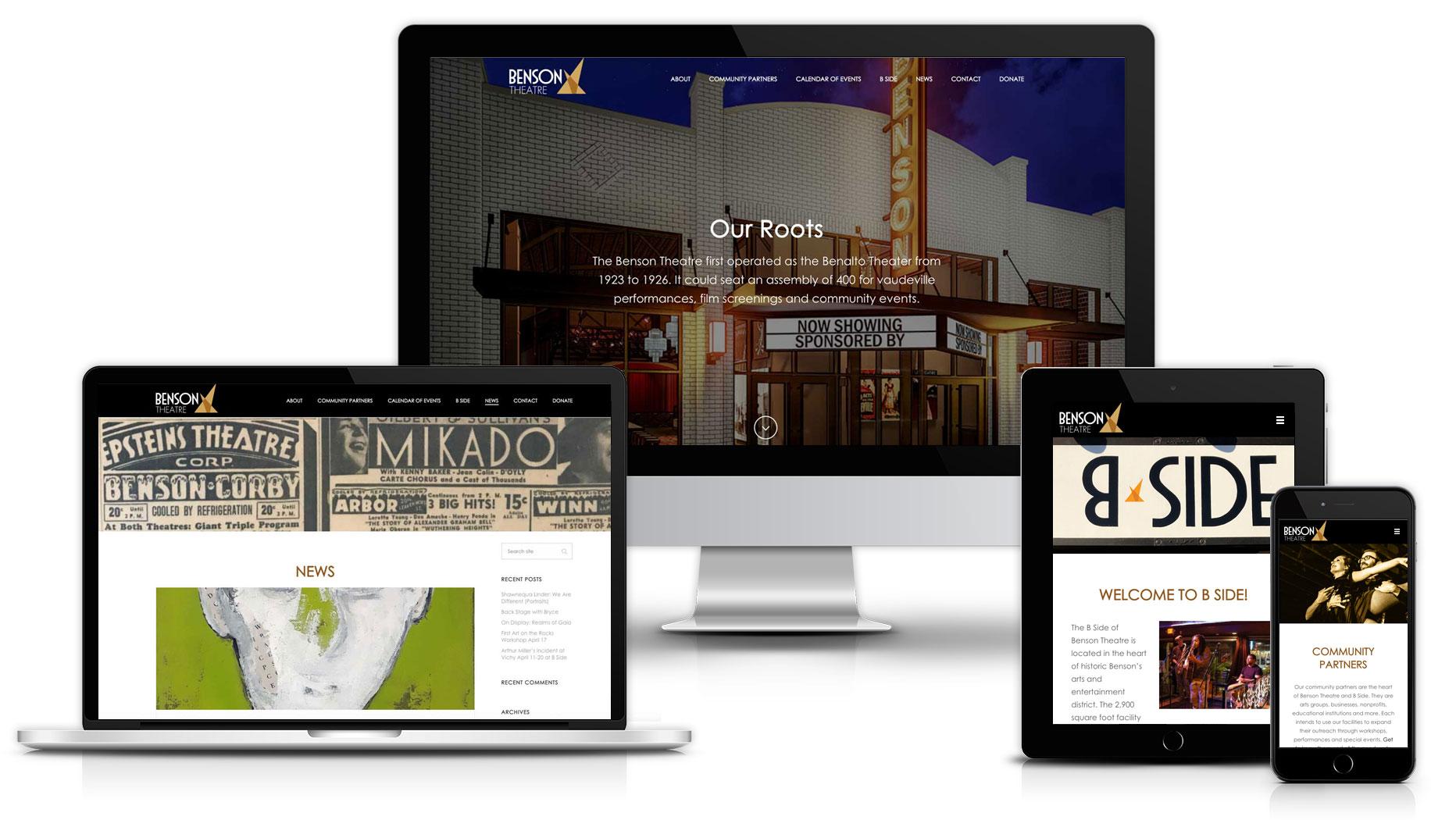 benson-website